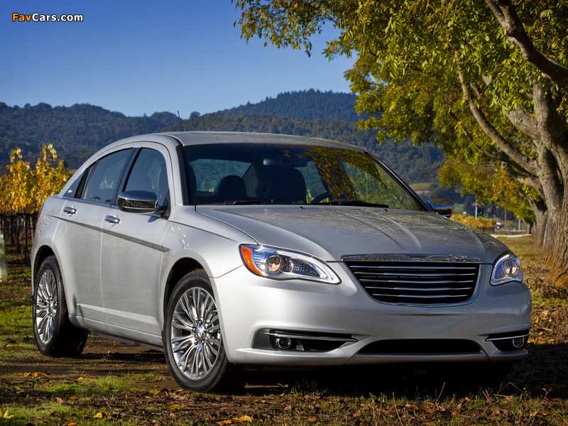 Pictures of Chrysler 200 2010 (800 x 600)