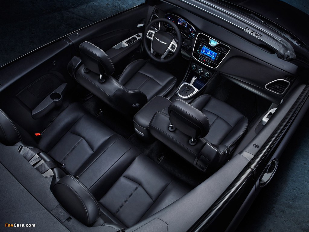 Pictures of Chrysler 200 Convertible 2011 (1024 x 768)