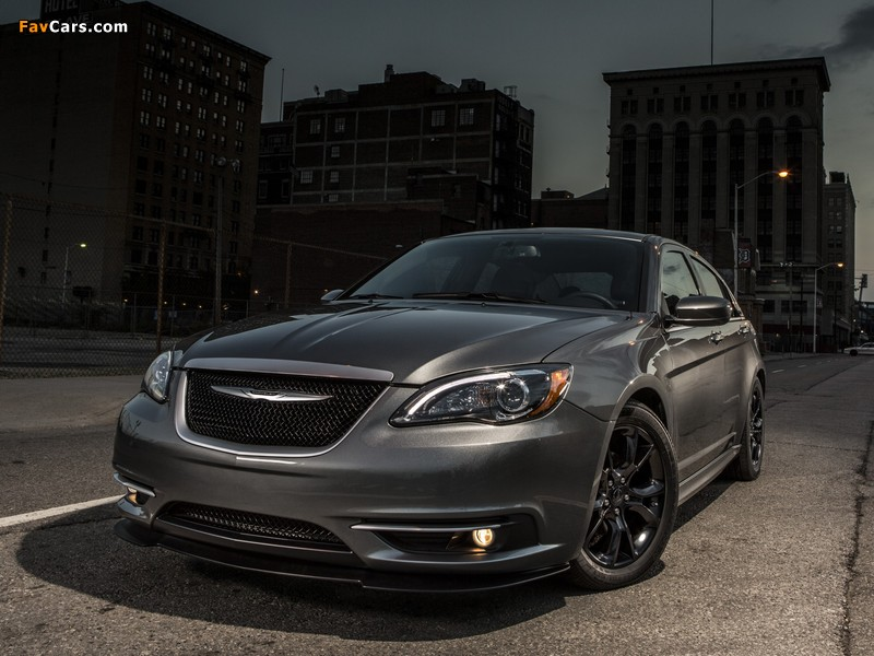 Chrysler 200S Special Edition (JS) 2013–14 wallpapers (800 x 600)
