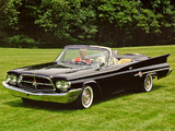 Wallpapers of Chrysler 300F Convertible 1960