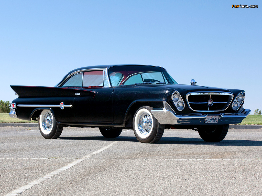 Chrysler 300G Hardtop Coupe (842) 1961 wallpapers (1024 x 768)