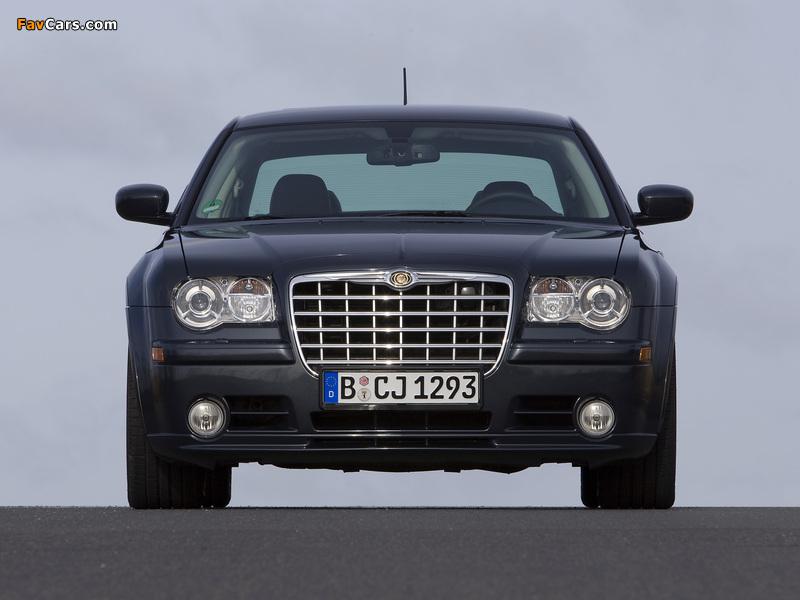 Chrysler 300C SRT8 EU-spec (LE) 2006–10 wallpapers (800 x 600)