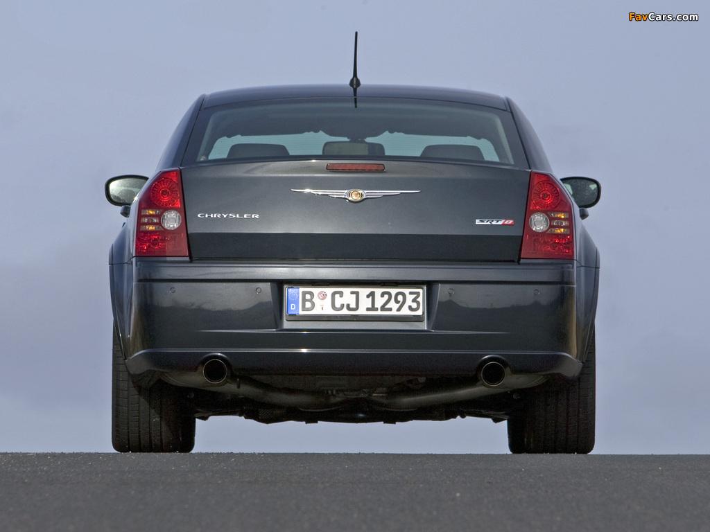 Chrysler 300C SRT8 EU-spec (LE) 2006–10 wallpapers (1024 x 768)