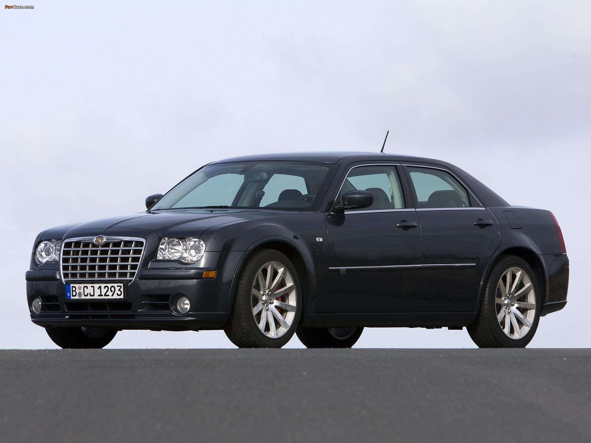 Chrysler 300C SRT8 EU-spec (LE) 2006–10 wallpapers (2048 x 1536)