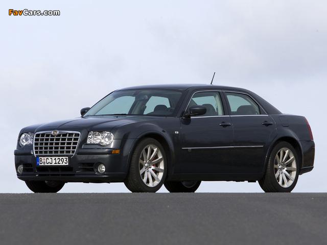 Chrysler 300C SRT8 EU-spec (LE) 2006–10 wallpapers (640 x 480)