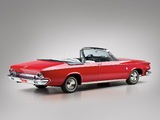 Chrysler 300 Sport Series Convertible (825) 1963 pictures