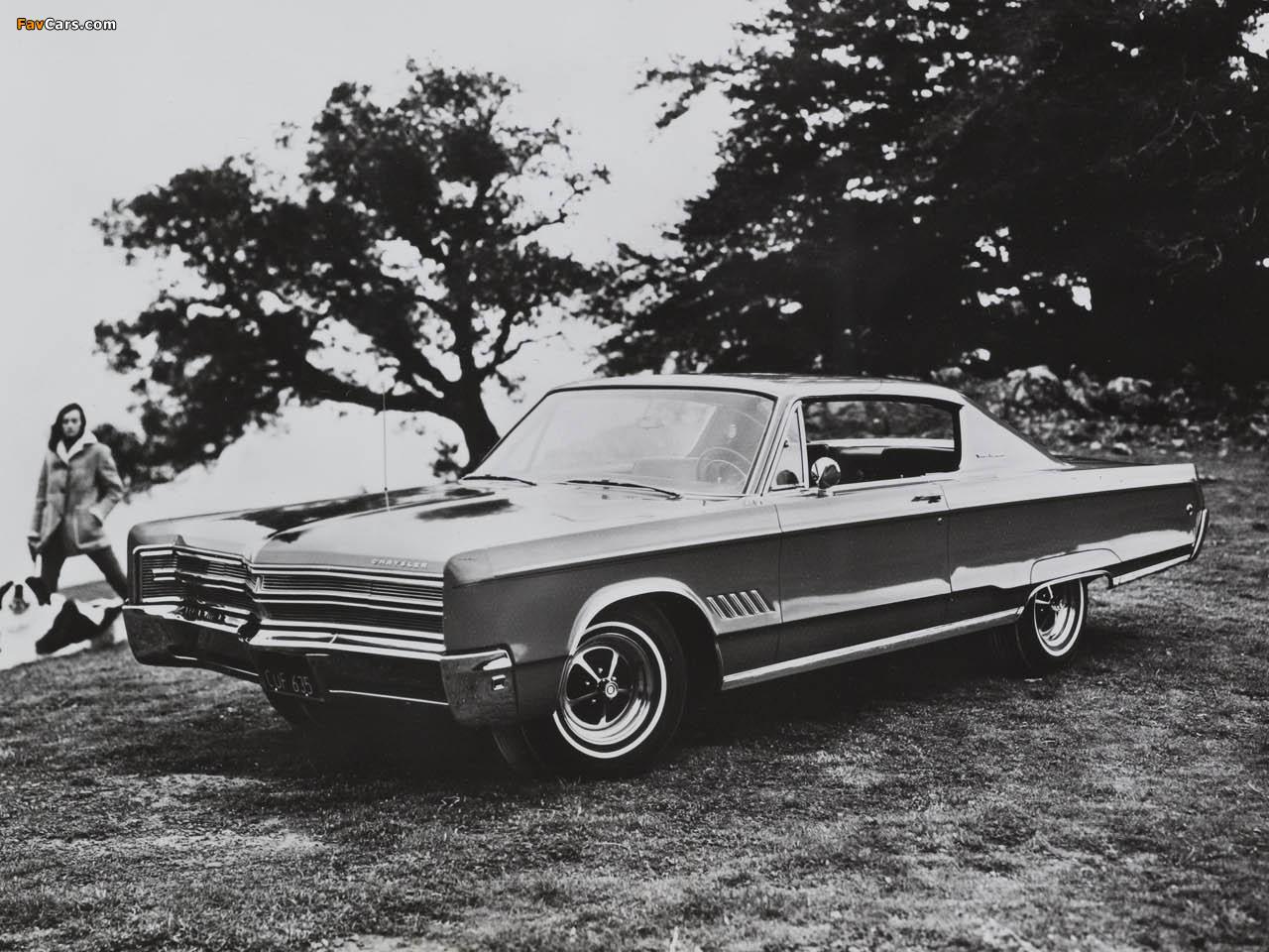Chrysler 300 2-door Hardtop 1968 pictures (1280 x 960)