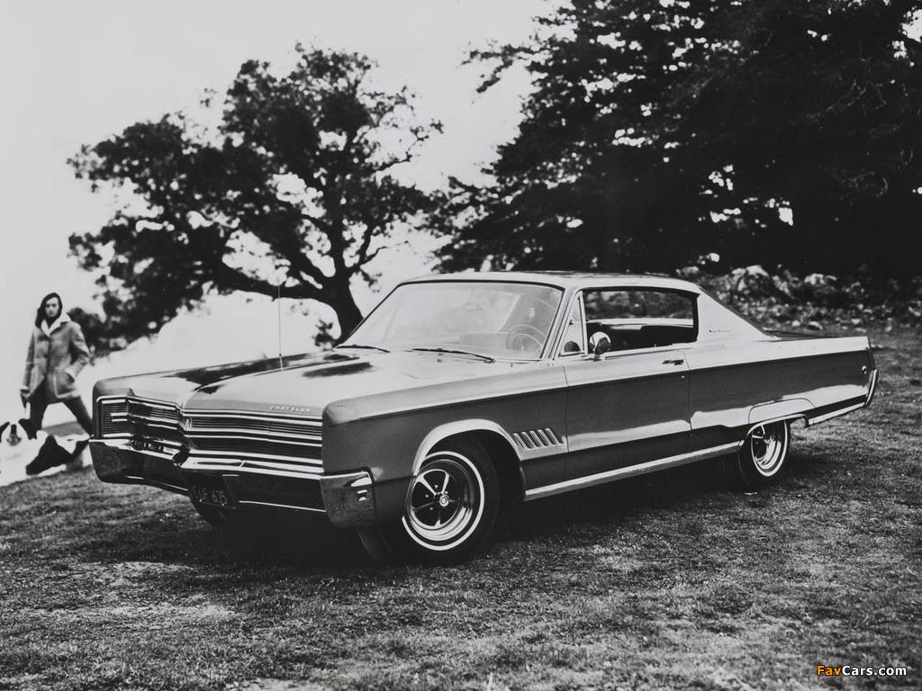 Chrysler 300 2-door Hardtop 1968 pictures (1024 x 768)