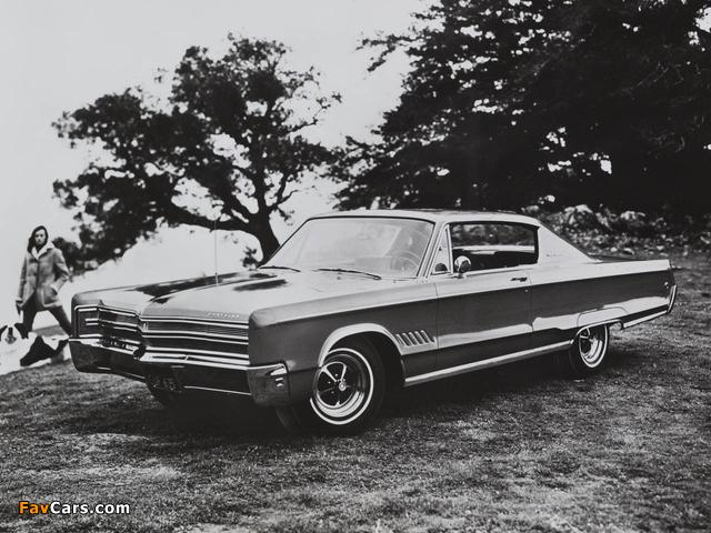 Chrysler 300 2-door Hardtop 1968 pictures (640 x 480)