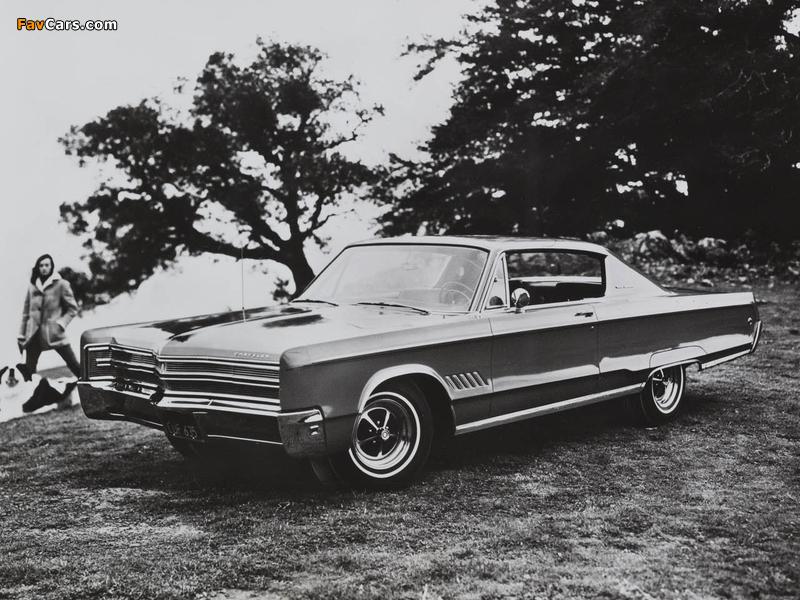 Chrysler 300 2-door Hardtop 1968 pictures (800 x 600)