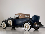 Pictures of Chrysler CD Deluxe Eight Roadster 1931–32