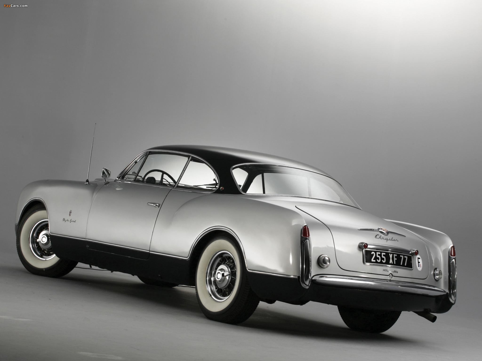 Chrysler Thomas Special Concept 1953 photos (2048 x 1536)