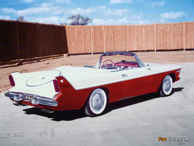 Chrysler Flight Sweep I Concept Car 1955 wallpapers (640 x 480)