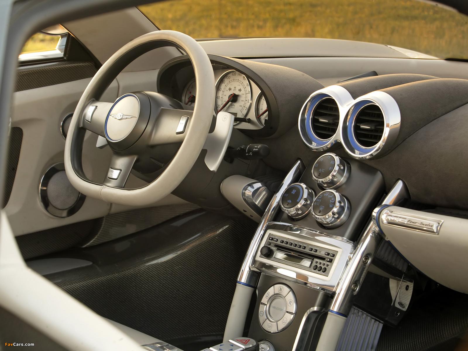 Chrysler ME 4-12 Concept 2004 photos (1600 x 1200)