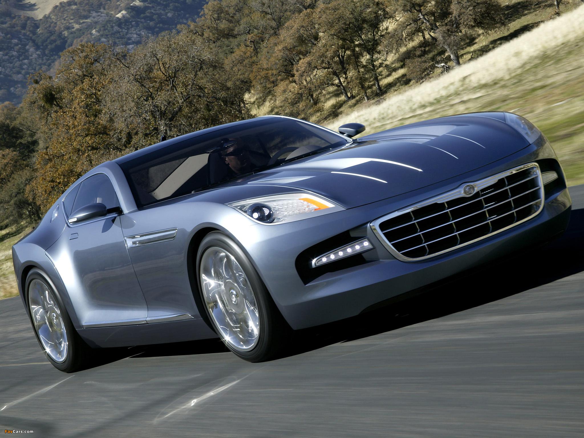 Chrysler Firepower Concept 2005 photos (2048 x 1536)