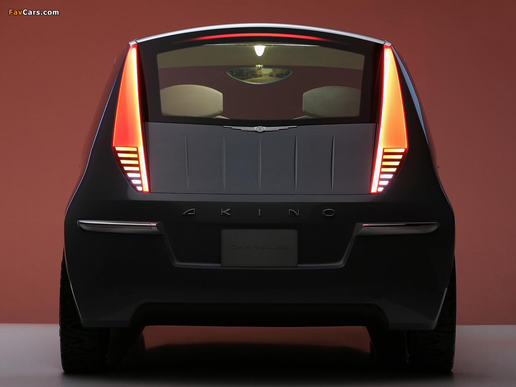 Chrysler Akino Concept 2005 photos (1024 x 768)