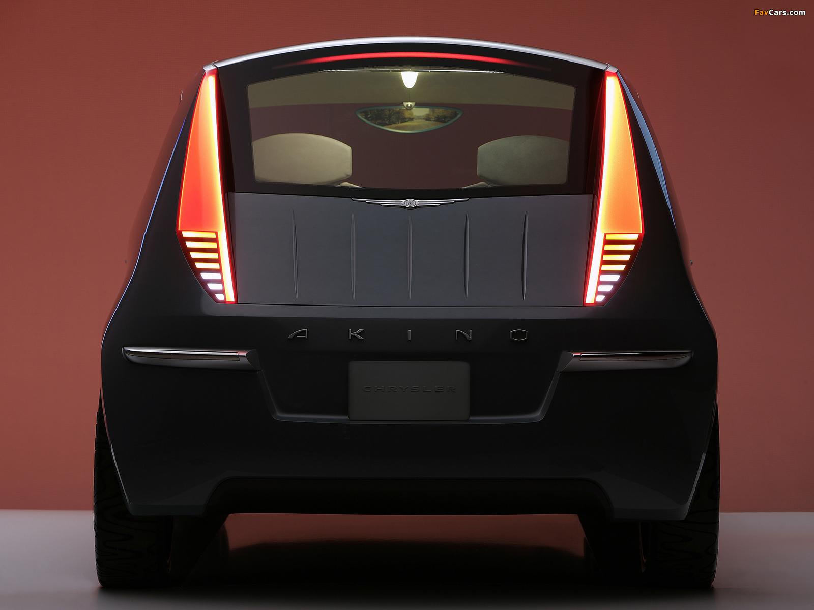 Chrysler Akino Concept 2005 photos (1600 x 1200)