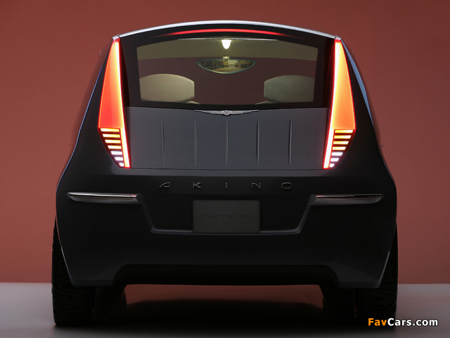 Chrysler Akino Concept 2005 photos (640 x 480)