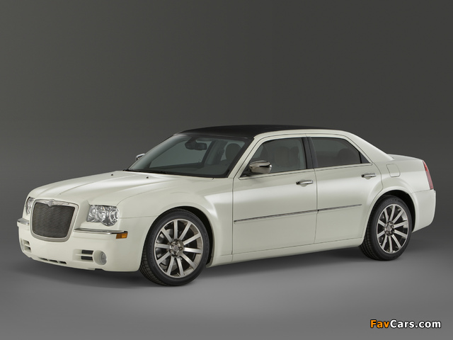 Chrysler 300 EcoStyle Concept (LX) 2010 wallpapers (640 x 480)