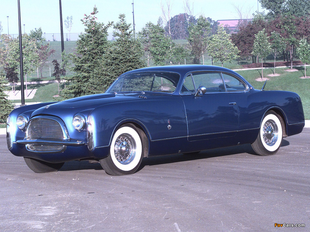 Images of Chrysler Ghia Concept 1953 (1024 x 768)