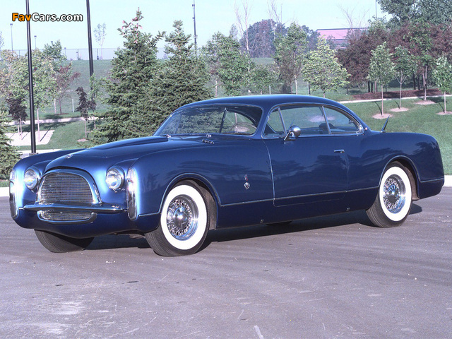 Images of Chrysler Ghia Concept 1953 (640 x 480)
