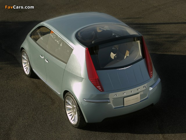 Images of Chrysler Akino Concept 2005 (640 x 480)
