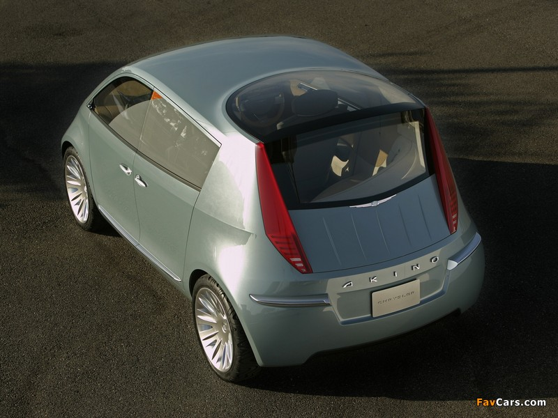 Images of Chrysler Akino Concept 2005 (800 x 600)