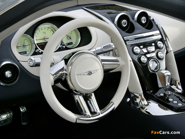 Images of Chrysler Firepower Concept 2005 (640 x 480)
