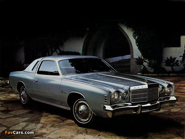 Chrysler Cordoba 1975–78 images (640 x 480)