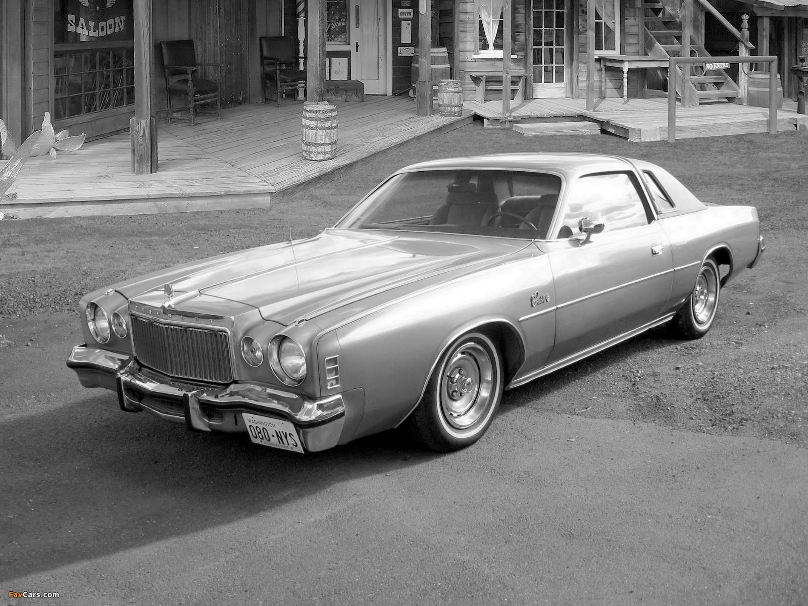 Chrysler Cordoba 1977 pictures (1600 x 1200)
