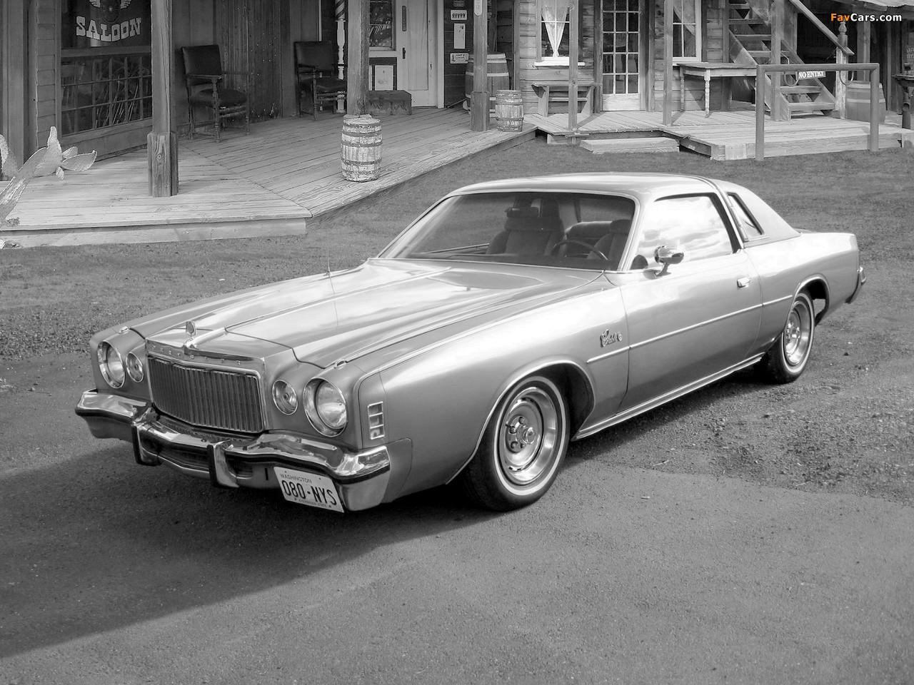 Chrysler Cordoba 1977 pictures (1280 x 960)