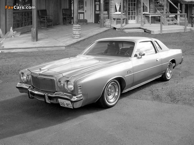 Chrysler Cordoba 1977 pictures (640 x 480)