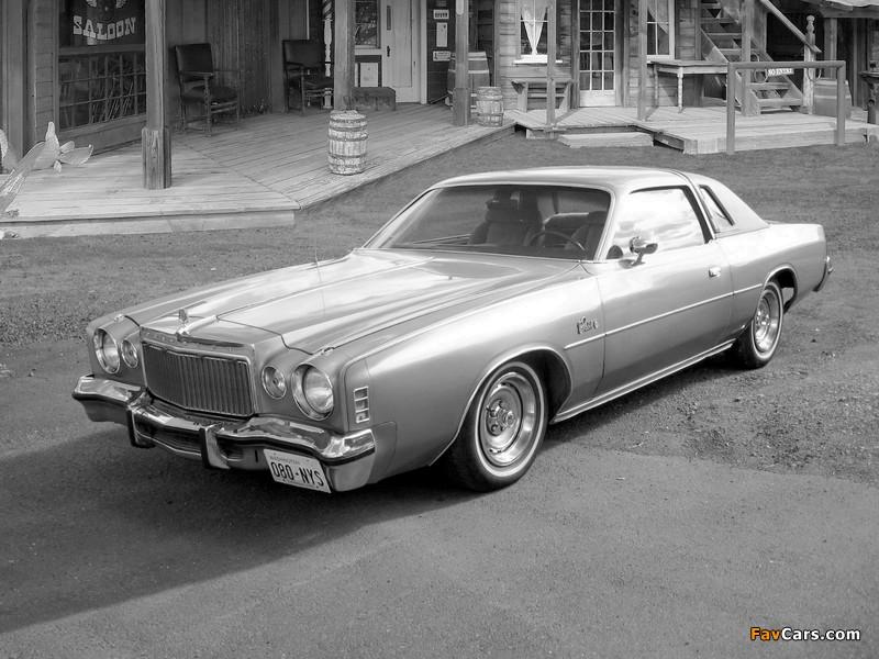Chrysler Cordoba 1977 pictures (800 x 600)