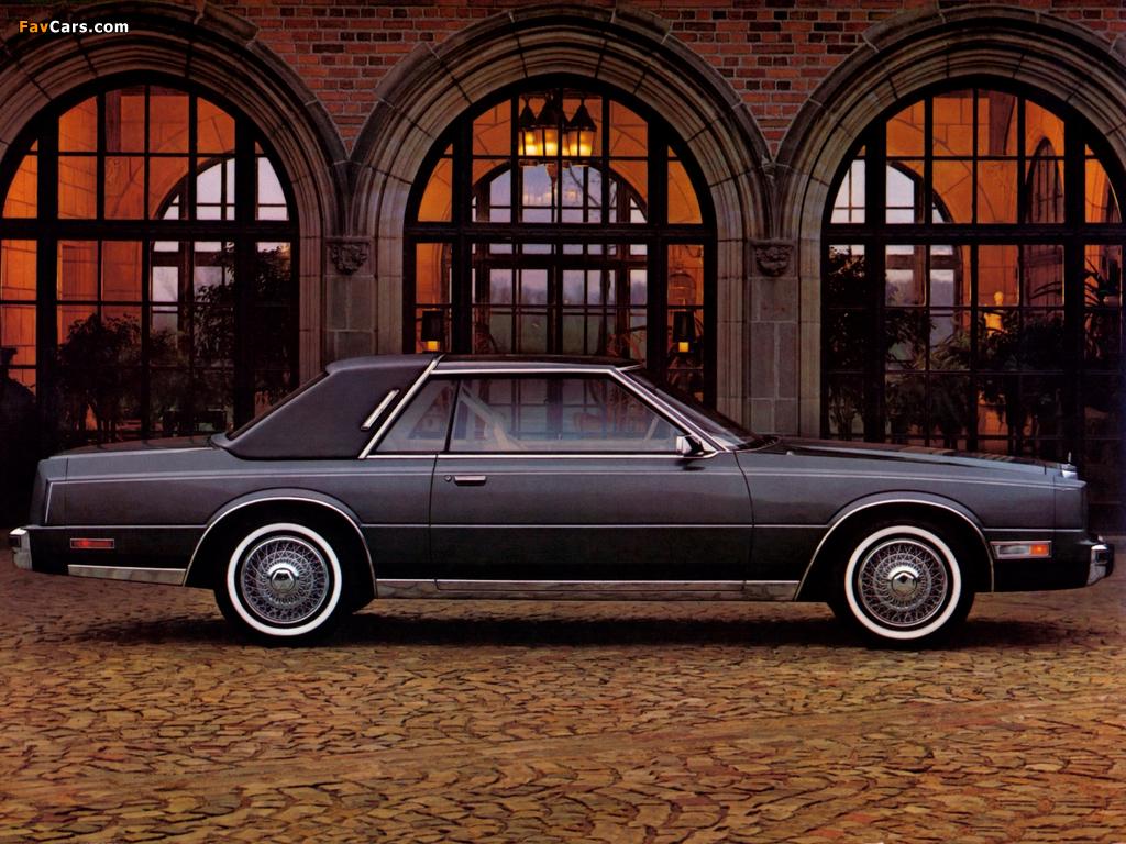 Chrysler Cordoba 1980–83 wallpapers (1024 x 768)