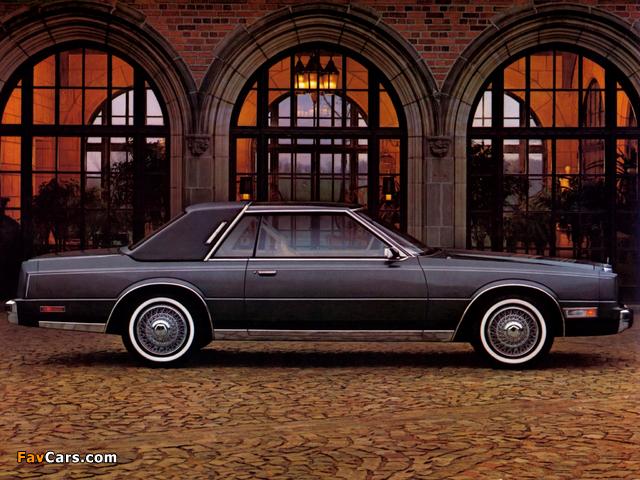 Chrysler Cordoba 1980–83 wallpapers (640 x 480)