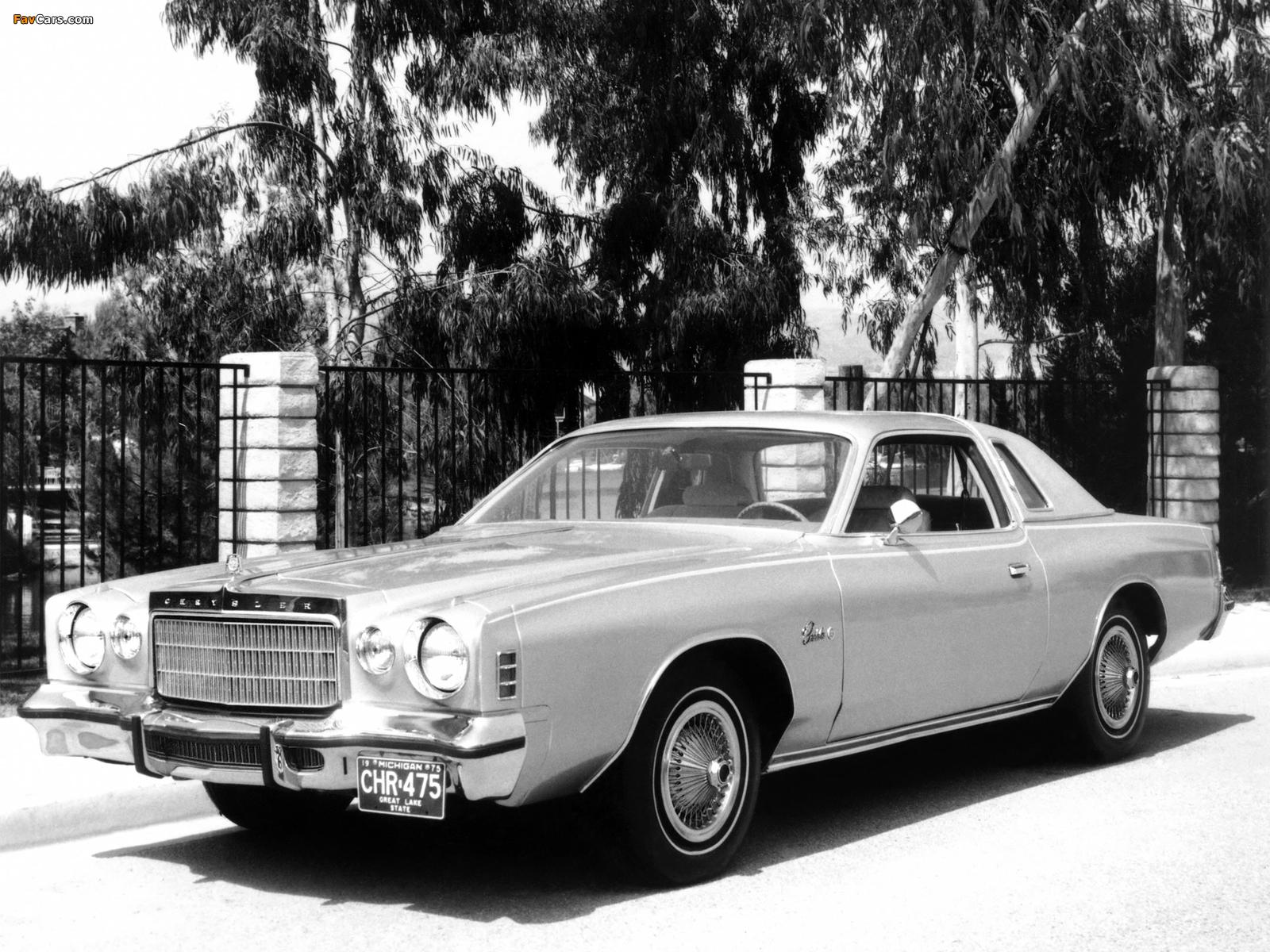 Images of Chrysler Cordoba 1975–78 (1600 x 1200)