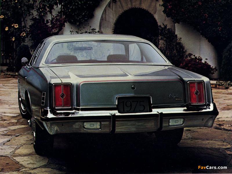 Photos of Chrysler Cordoba 1975–78 (800 x 600)