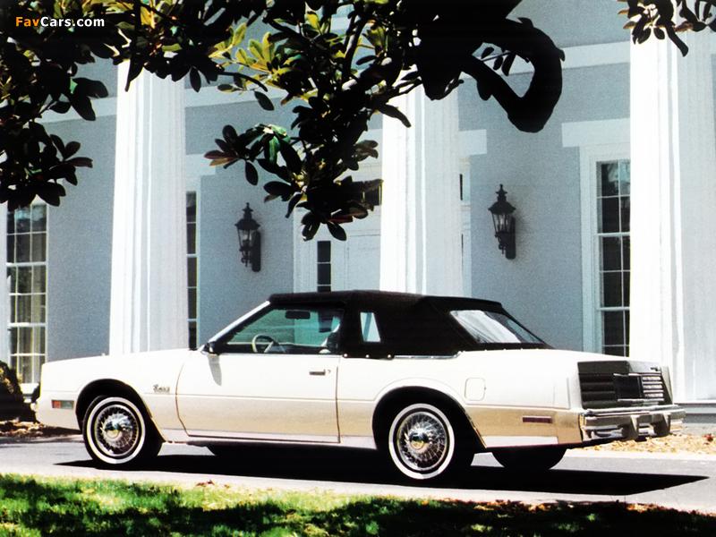 Chrysler Cordoba Convertible by Global Coach 1981 wallpapers (800 x 600)