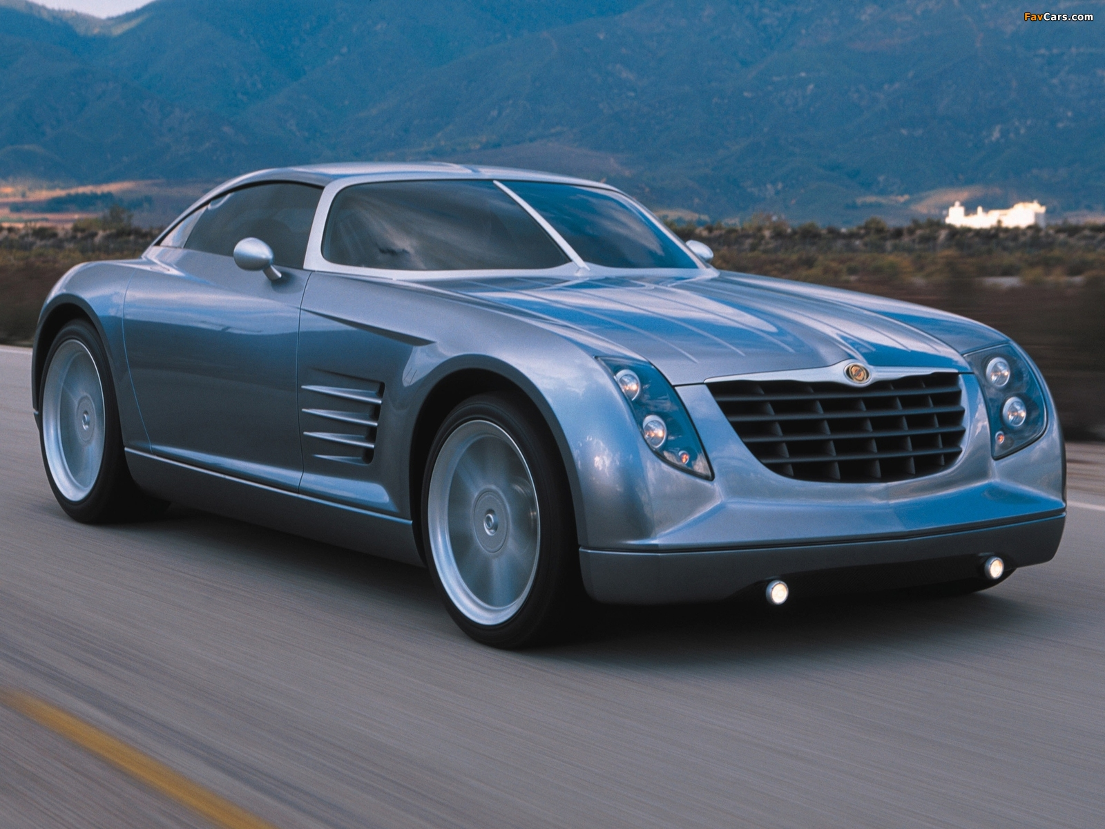 Chrysler Crossfire Concept 2001 photos (1600 x 1200)