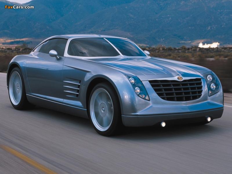 Chrysler Crossfire Concept 2001 photos (800 x 600)