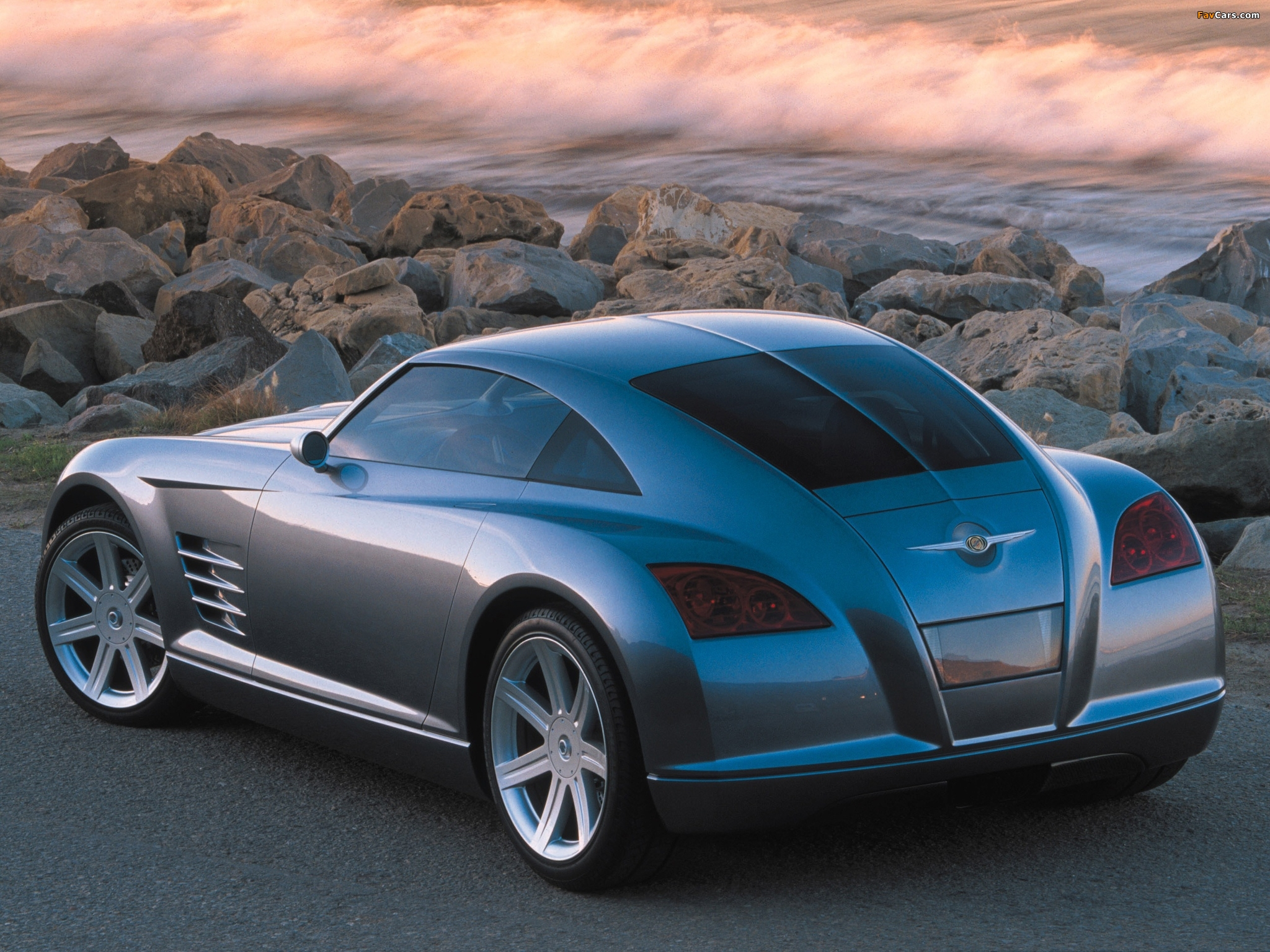 Chrysler Crossfire Concept 2001 pictures (2048 x 1536)