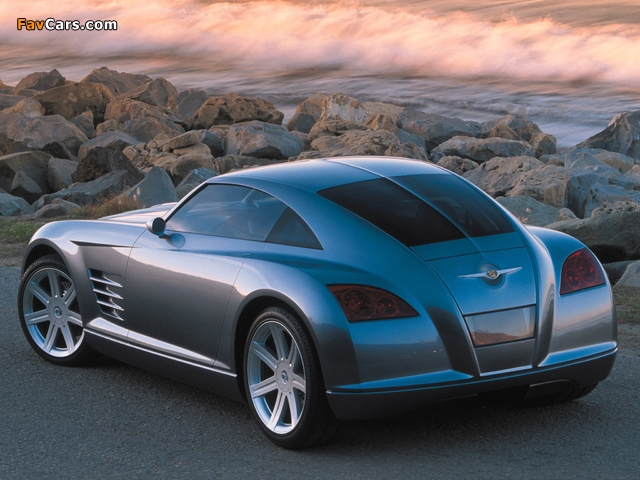 Chrysler Crossfire Concept 2001 pictures (640 x 480)