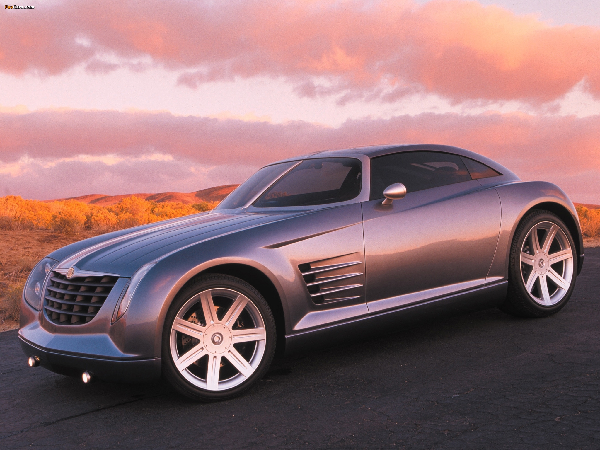 Chrysler Crossfire Concept 2001 wallpapers (2048 x 1536)