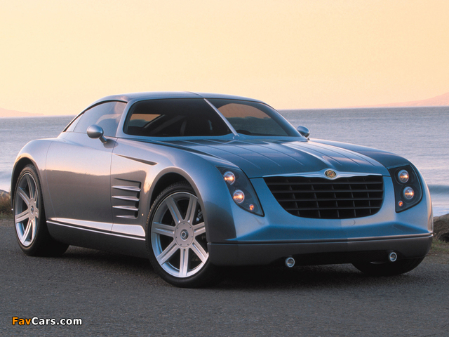Chrysler Crossfire Concept 2001 wallpapers (640 x 480)