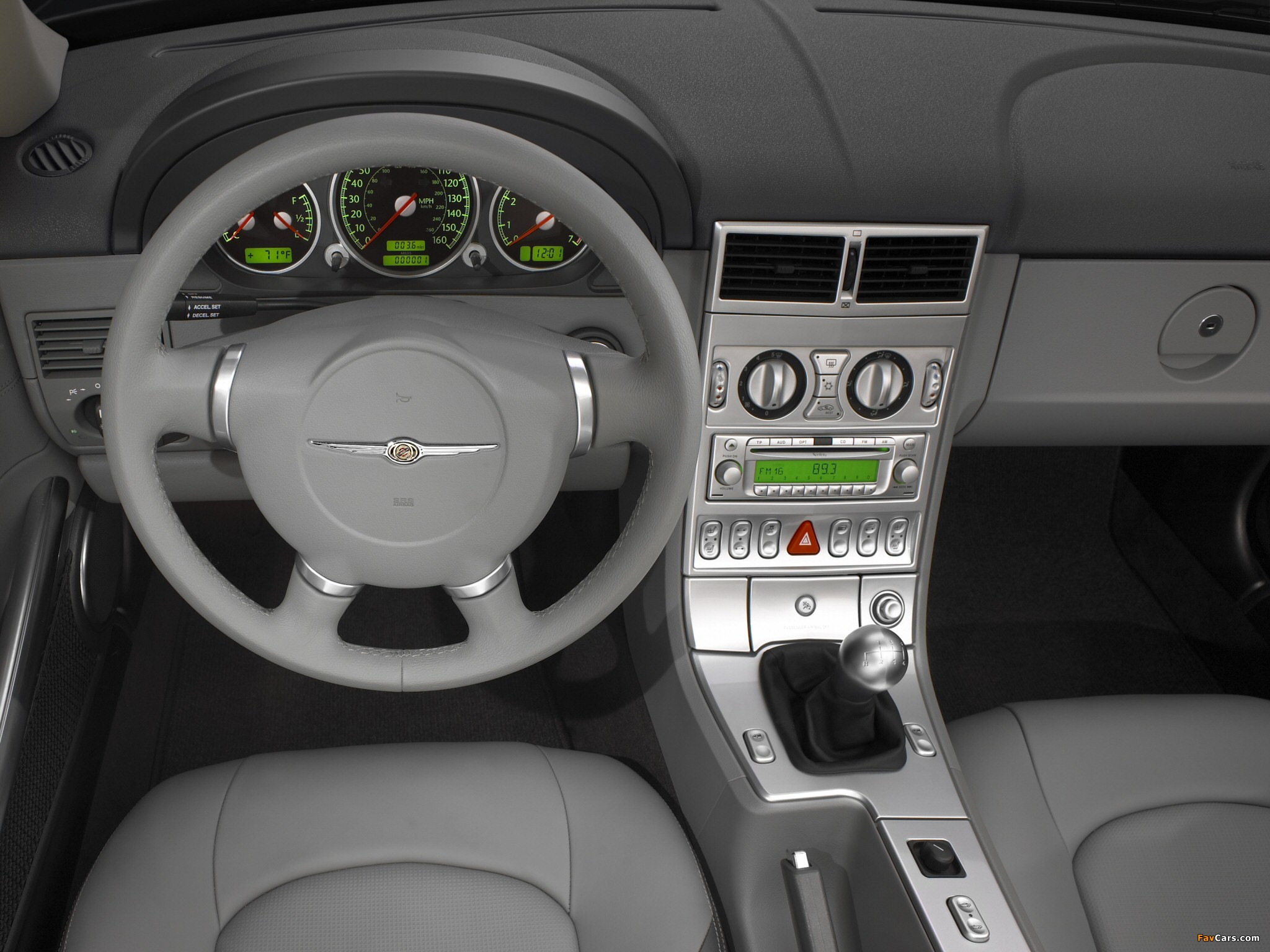 Chrysler Crossfire Coupe 2003–07 images (2048 x 1536)