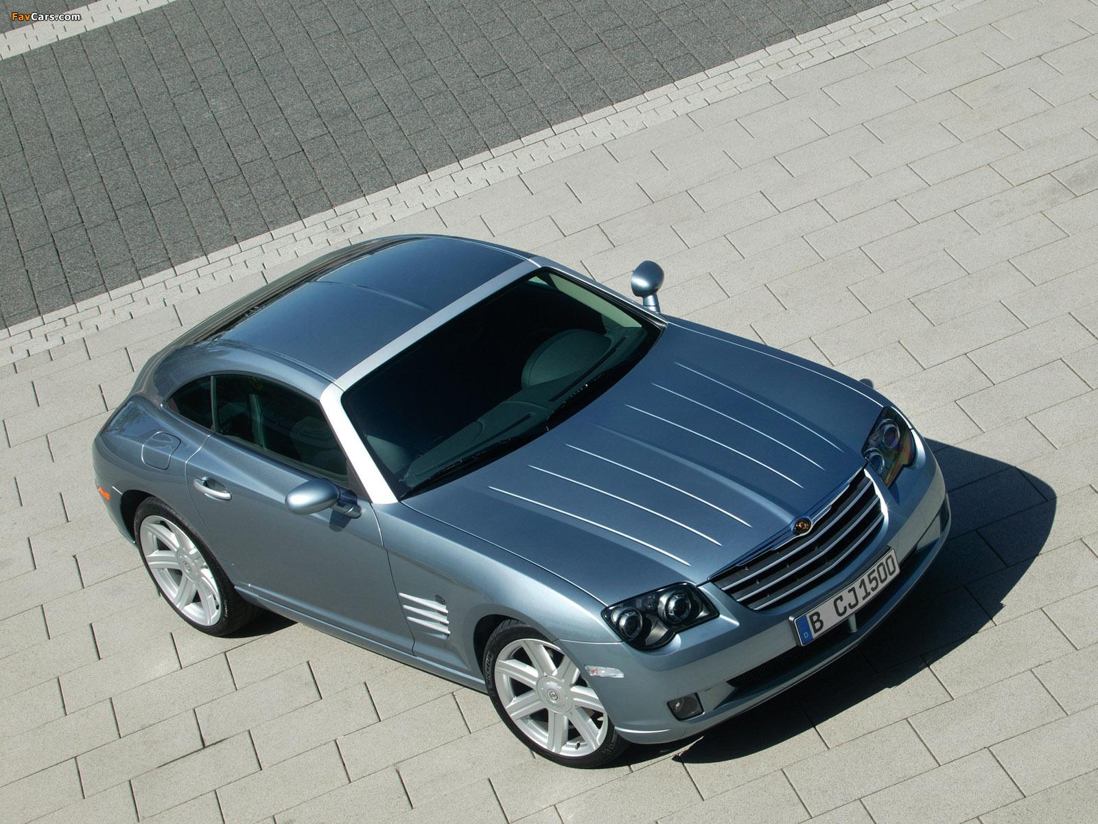 Chrysler Crossfire Coupe 2003–07 photos (1600 x 1200)