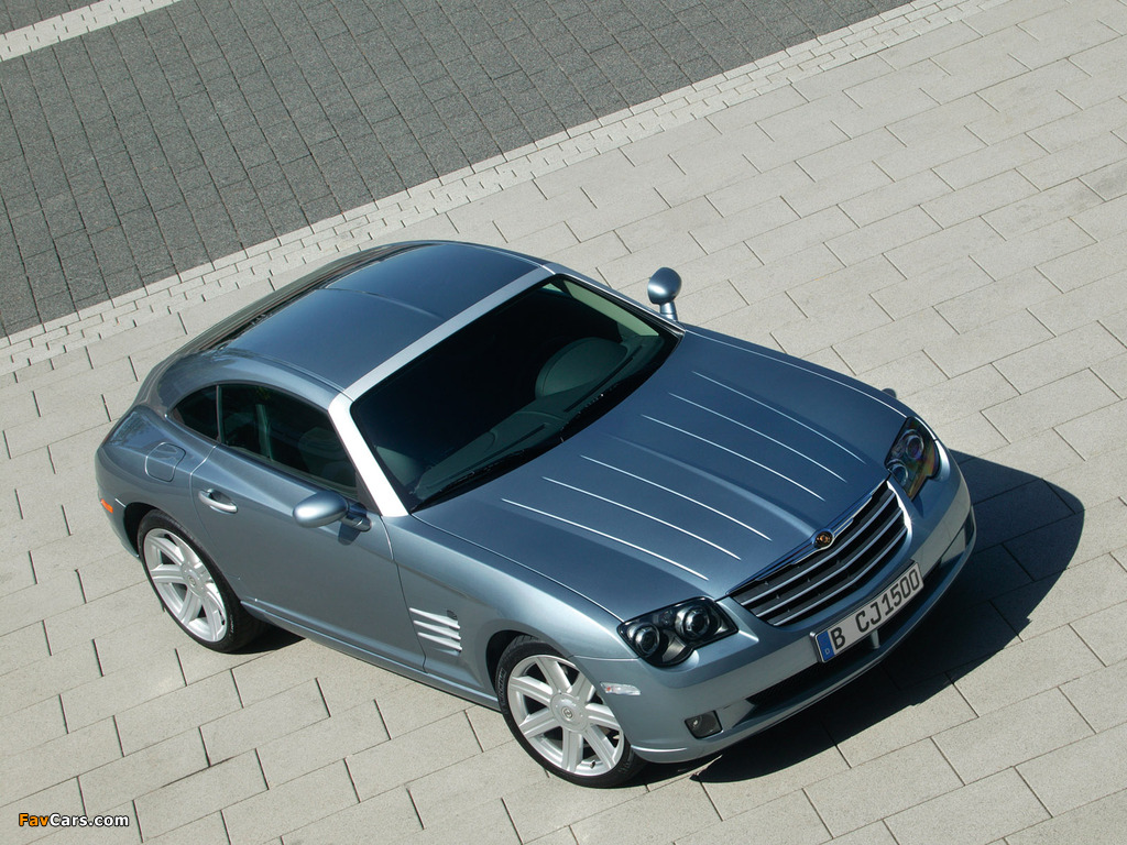 Chrysler Crossfire Coupe 2003–07 photos (1024 x 768)