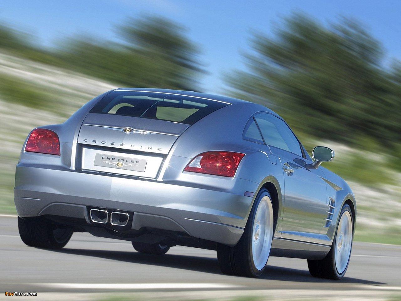 Chrysler Crossfire Coupe 2003–07 photos (1280 x 960)