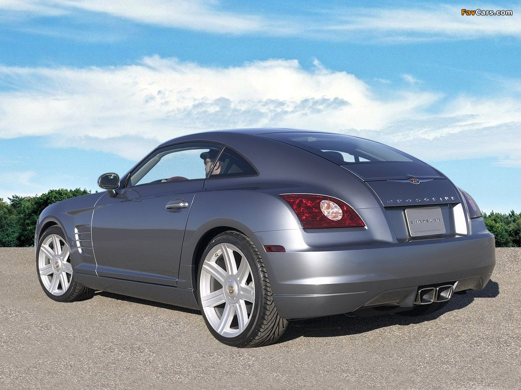 Chrysler Crossfire Coupe 2003–07 pictures (1024 x 768)