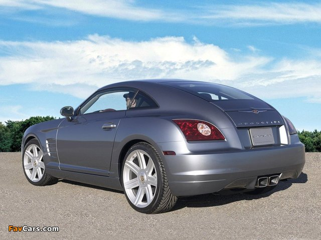 Chrysler Crossfire Coupe 2003–07 pictures (640 x 480)